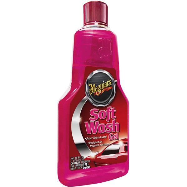 Meguiars Soft Wash Gel, Shampoo, 473ml
