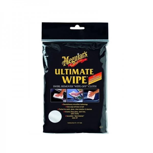 Meguiars Ultimate Wipe, Microfasertuch zum Auspolieren