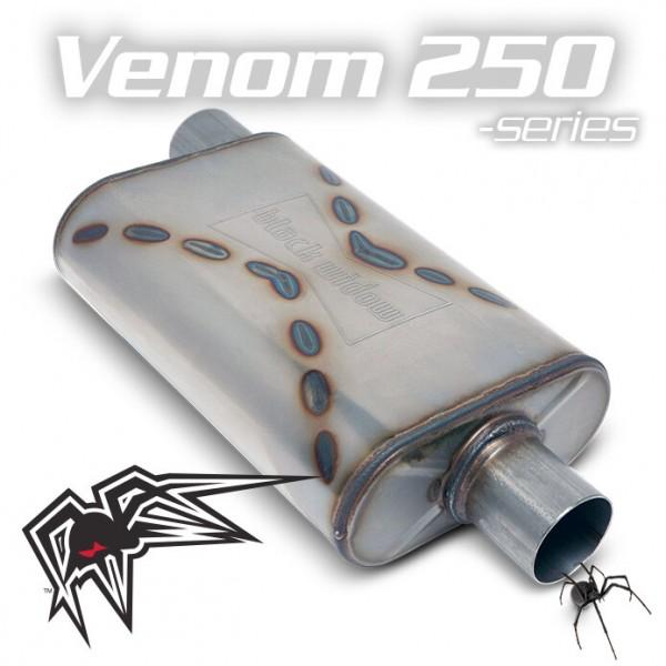 """Black Widow Venom 250 3"""" offset/center"""