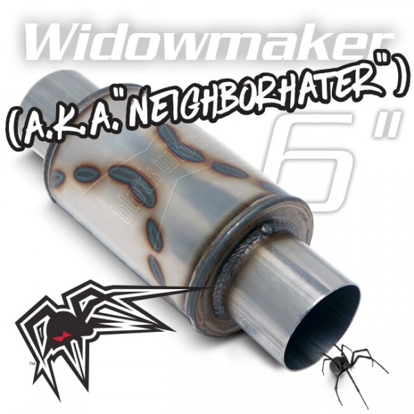 Black Widow Neighborhater 2.5""