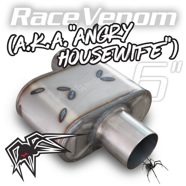 """Black Widow Race Venom 6"""" ( Angry Housewife ) 3"""" offset/center"""