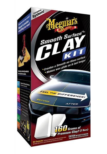 Meguiars Smooth Surface Clay Kit, 473ml, 2x 80g