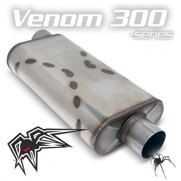"""Black Widow Venom 300 2,5"""" offset/center"""