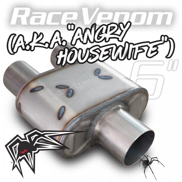 "Black Widow Race Venom 6"" ( Angry Housewife ) 3""/3"" single/dual"