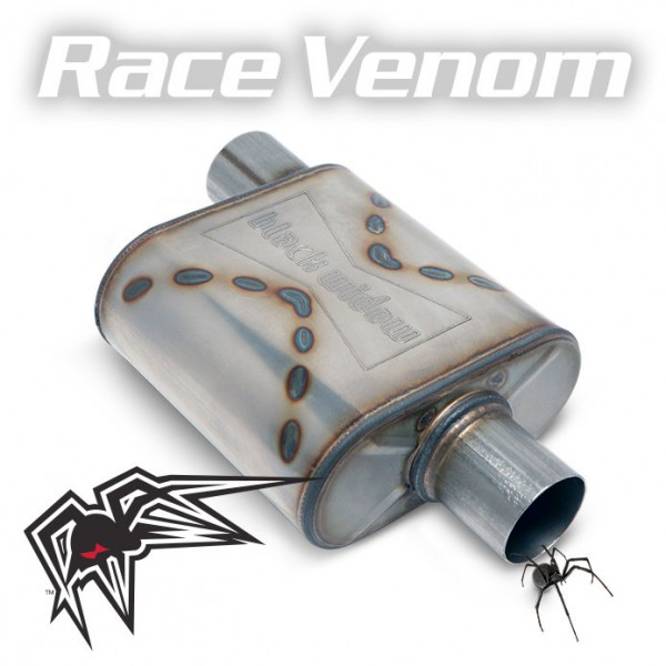 "Black Widow Race Venom 3"" offset/center"