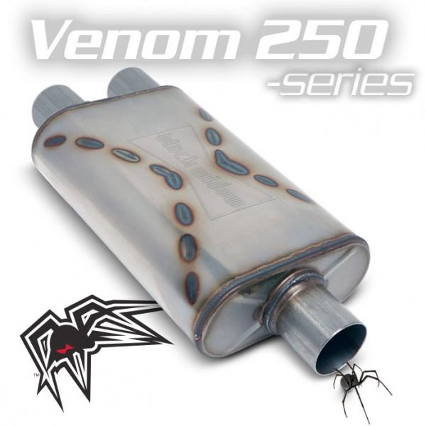 "Black Widow Venom 250 3""/3"" single/dual"