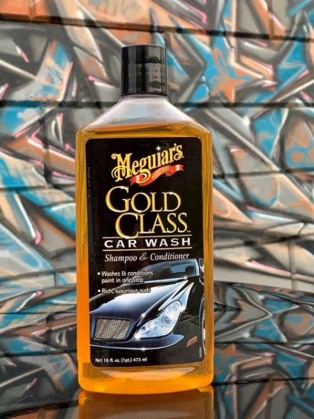 Meguiars Gold Class Car Wash & Conditioner, 473ml
