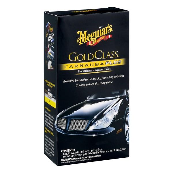 Meguiars Gold Class Carnauba Plus Liquid Wax, 473ml