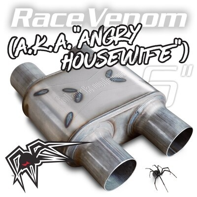 "Black Widow Race Venom 6"" ( Angry Housewife ) 2,5""/2,5"" dual/dual"