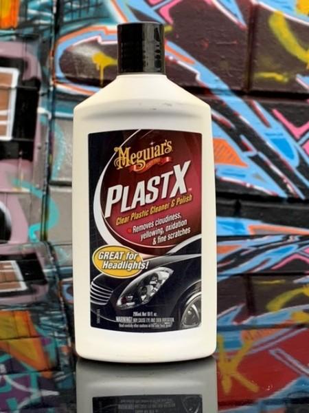 Meguiars PlastX Kunststoffreiniger / Scheinwerferpolitur, 296ml