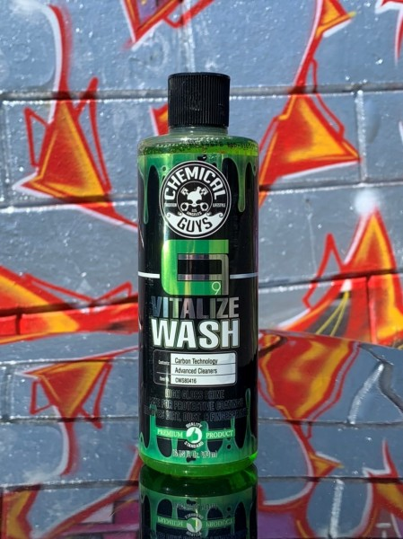Chemical Guys, Vitalize Wash, Carbon Flex Shampoo, 473ml