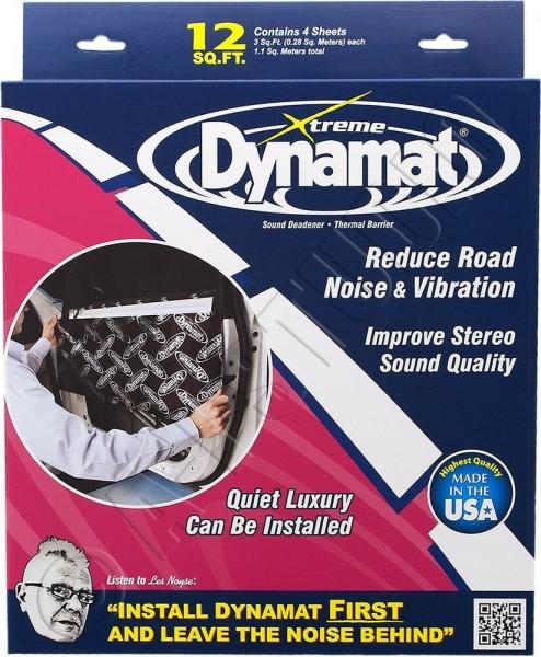 Xtreme Door Kit, Dämmung, Alu-Butyl, selbstklebend, 12″ x 36″, 4 Platten